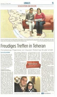 Zeitung Schlüchtern_März